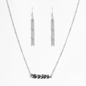 Beautifully Branching - Silver Necklace